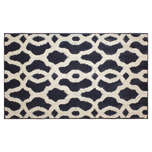 """Wholesale Jean Pierre Mozart 24 X 60"""" Textured Decorative Accent Rug, Runner, Grey/Berber for sale"""