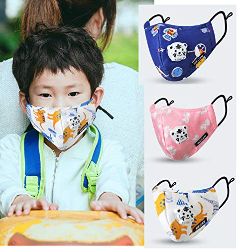 Child Dust Allergy Flu Mask Washable Protection Pollen Cold Germs Asthma Masks]()
