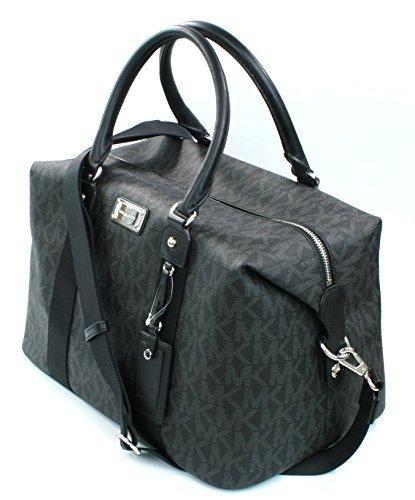 15b16d94f790 Galleon - Michael Kors Travel Large Weekender Black Bag (35T6STFT3B)
