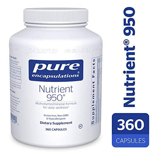 Pure Encapsulations - Nutrient 950 - Hypoallergenic Multi-vitamin/Mineral Formula for Optimal Health* - 360 Capsules