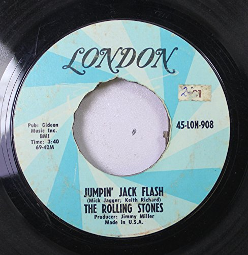 The Rolling Stones 45 RPM Jumpin' Jack Flash / Child Of The Moon