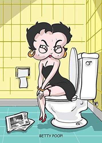 Betty Poop - Adult Humor Birthday Card]()