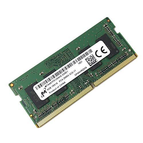 Micron MTA4ATF51264HZ-2G6E1 Non ECC PC4-2666V 4GB DDR4 at 2666MHz 260pin SDRAM SODIMM Single Kit Laptop Memory - OEM ()
