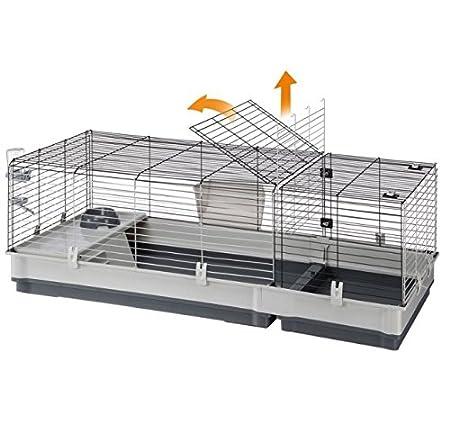 Plaza - Jaula para conejos pequeños y conejillos de indias 140 ...
