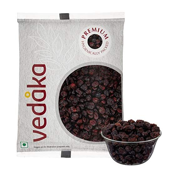 Amazon Brand - Vedaka Premium Whole Candied Cranberries, 1kg