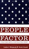 img - for The People Factor: Strengthening America by Investing in Public Service book / textbook / text book