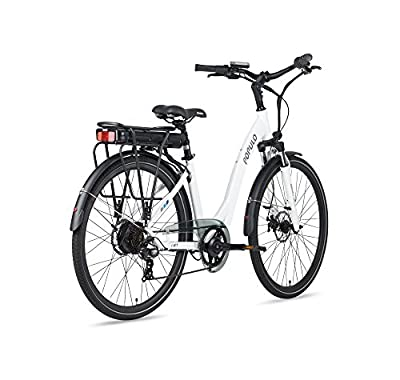 Lift V2 Electric Bicycle, 30 Mile Range, 250W 7-Speed Comfort Step-Through Ebike w/Removable Lithium Ion Battery