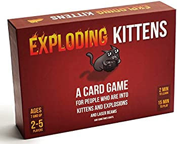 Exploding Kittens and Sometimes Goats Card Game
