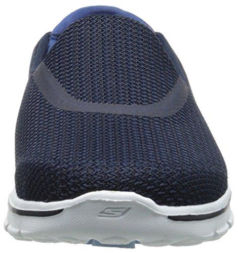 Skechers Basses 3 Go Marine Nvw Baskets Femme Walk Bleu IxaIqr