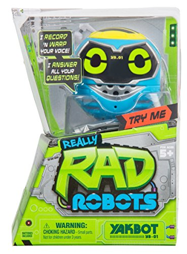 Really R.A.D. Robots Yakbot YB-01 Blue