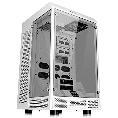 Thermaltake Gabinete Tt The Tower 900/White/Win/Tempered Glass CA-1H1-00F6WN-00