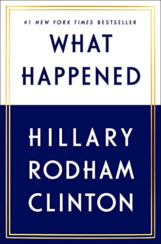 What Happened - Signed Book