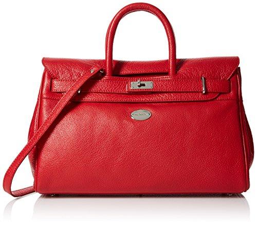Mac Douglas Pyla Buni S, Borsa a mano donna Rosso (Rouge Fraise)