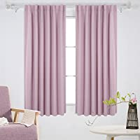 Deconovo Insulated Thermal Blackout Blinds Rod Pocket and...