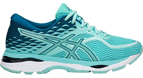 ASICS Gel-Cumulus 19 Running Shoe - Aruba Blue/Aruba Blue/Turkish Tile - Womens - 8 - Aruba Blue Apparel