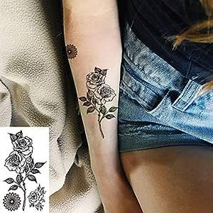 tzxdbh Tatuaje a Prueba de Agua Pegatina búho Tatto pájaro Animal ...