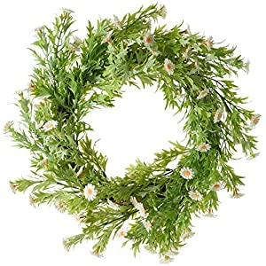 Artificial Green Leaf Wreath Door Wreath Summer Wreath 88