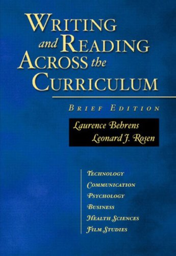Chapter Reading and Writing in English Classes