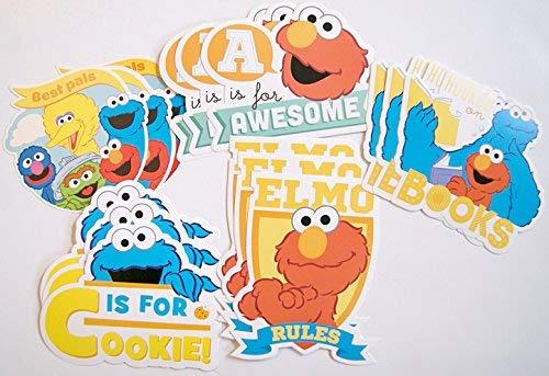 Sesame Street Die Cut Shapes