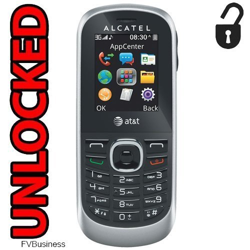 BRAND NEW ALCATEL ONE TOUCH 510A UNLOCKED GSM ATT TMOBILE ANY GSM (Certified Refurbished) ()
