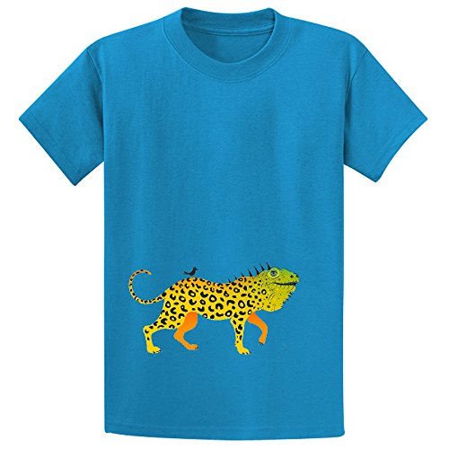 J Is For Jaguana Teen Crew Neck Personalized T Shirts Blue](J Force Paintball)