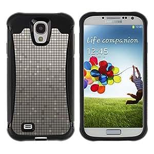 LASTONE PHONE CASE / Suave Silicona Caso Carcasa de Caucho Funda para Samsung Galaxy S4 I9500 / Simple Pattern 33