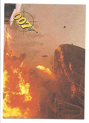 James Bond Goldeneye 1995 Card #26 Detonation from James Bond Goldeneye