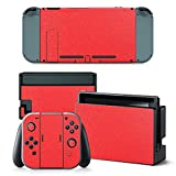 Gam3Gear Vinyl Decal Protective Skin Cover Sticker for Nintendo Switch Console & Controller – Red Review