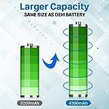 (Upgraded) Wavypo LG V20 Battery, 4390mAh