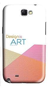 Samsung Note 2 Case Design is Art 3D Custom Samsung Note 2 Case Cover