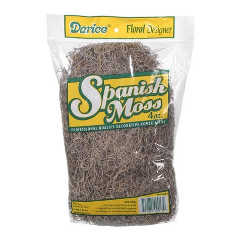 Cheap Darice Spanish Moss, Gray, 4-Ounce Package