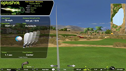 Optishot 2 Players Bundle | Includes Optishot 2, Extra Replacement Turf, and 18 Callaway Practice Balls (Mac & PC Compatible) by Optishot (Image #2)