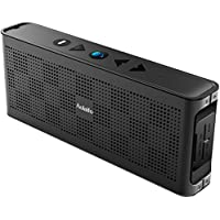Aolaifo Portable Speakers, Wireless Speakers with Enhanced Base Dual 10W Driver IPX5 Water Resistant Aluminum Alloy Portable Bluetooth Speaker with 10 hr Playtime (Black)