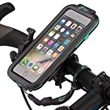 Ultimateaddons Handlebar Strap 21-40mm Bicycle Mount and Water Resistant Case for Apple iPhone 8 Plus 5.5''
