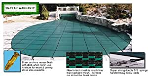 Gli secur a pool 15 ft x 30 ft rectangular - A rectangular swimming pool is 30 ft wide ...