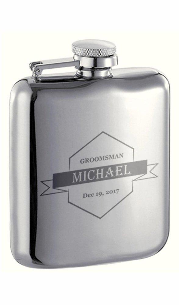 フジオカシ Personalized Groomsmen Visol Providence 6 oz Groomsmen High 6 oz Polish Liquorフラスコ B0753L1FBR, プリコレ:564191d1 --- a0267596.xsph.ru