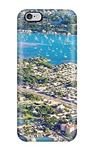 Durable Protector Case Cover With Beach S Hot Design For Iphone 6 Plus(3D PC Soft Case)