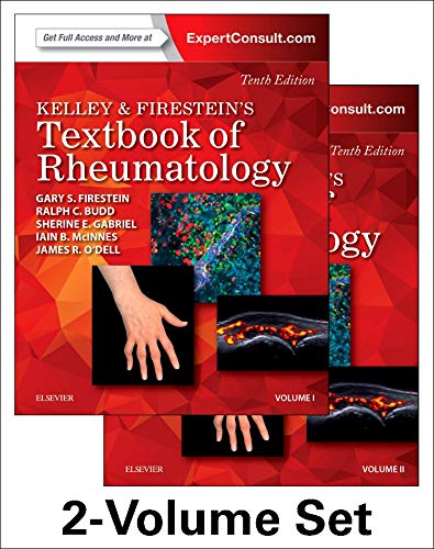 Kelley and Firestein's Textbook of Rheumatology, 2-Volume Set (Kelleys Textbbok of Rheumatology)