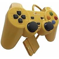 Controle com Fio para PS2 Feir - Amarelo - FR-206