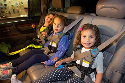 GOKIZ Car Seat Vest, Charcoal, Small by GOKIZ (Image #2)