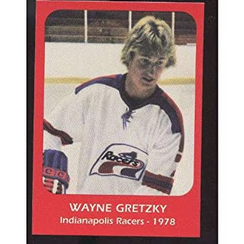 1978 Wayne Gretzky Indianapolis Racers Pre Rookie Hockey Card