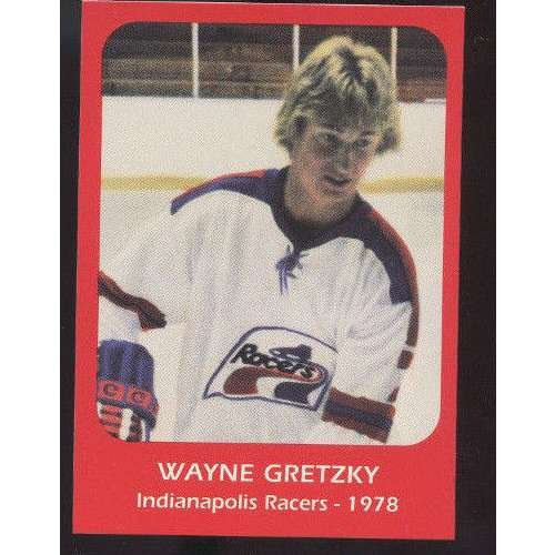 1978 Wayne Gretzky Indianapolis Racers Pre ROOKIE Hockey Card National ()