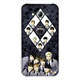Samsung Galaxy Grand Prime mobile phone back cover|back case printed design hard plastic polycarbonate material case- Design name BTS Music lover team by Red Hot gifts and more