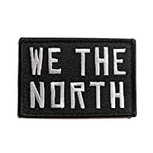 WE THE NORTH Embroidered Canada Morale Patch - Raptors Tribute