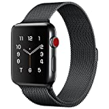 Lelong for Apple Watch Band,Milanese Loop Fully Magnetic...