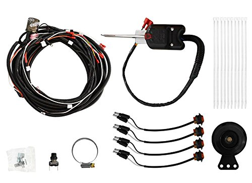 SuperATV Polaris RZR 800 / 800 S / 1000 XP / 1000 S / 900 / 900 S / 570 / Turbo 1000 Turn Signal Kit (with Steering Column and Dash Horn) - Plug and Play for Easy Installation! (Turbo 800 Kit)
