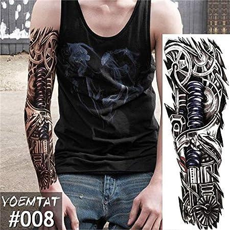 Opaco Big Arm Owl Hand Watch Tattoo Sticker Angel Cloud Ladder ...