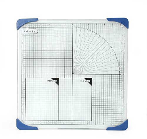 Studios 12 Inch Tempered Cutting Measuring