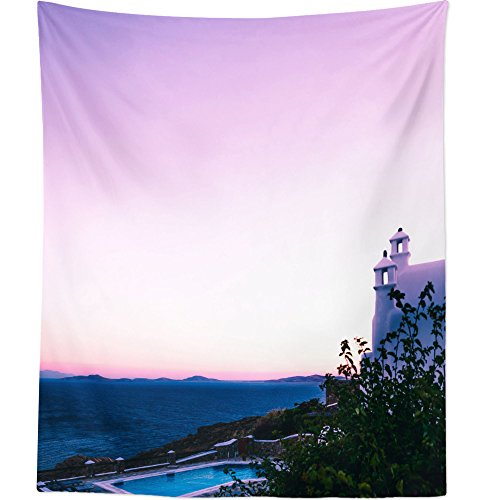 Westlake Art - Mountain Horizon - Wall Hanging Tapestry - Picture Photography Artwork Home Decor Living Room - 68x80 Inch (Portsmouth Outdoor Hanging)