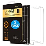 Galaxy S6 Screen Protector,[2 Packs]By Ailun,Tempered Glass,Samsung Galaxy S6,9H Hardness,2.5D Edge,Anti-Scratch,Bubble Free,Reduce Fingerprint&Oil Stains Coating,Case Friendly-Siania Retail Package